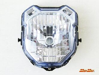 상품 신고 후에 하시면!! ZOOMER-X/JF52/ズーマー X 헤드라이트 ASSY (블루 렌즈)