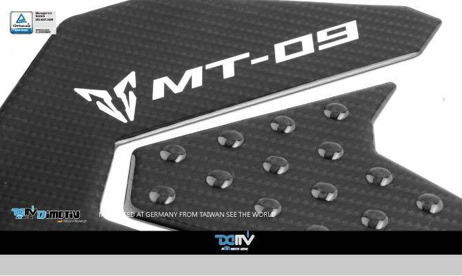 【送料無料!!】Dimotiv(DMV) MT-09(13-15) タンクパッド (Protective Pad)カーボン