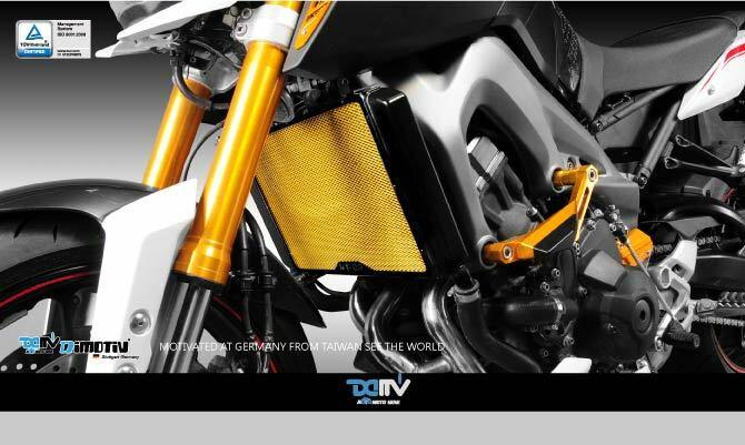 【送料無料!!】Dimotiv(DMV) MT-09(13-15) ラジエーターカバー(Standard Radiatoe Protective Cover)