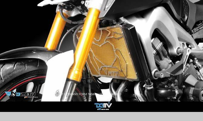 【送料無料!!】Dimotiv(DMV) MT-09(13-15) 3Dラジエーターカバー(Radiator Protective Cover - Special)