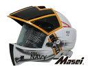 【50%OFF!!】春だよ!ツーリング&ドライブに行こう!セール!【送料無料!!】Masei ジェットヘルメット ロボヘル911 NAVY HELMET