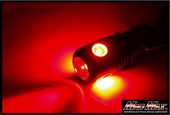 【送料無料!!】S25(BA15S) ハイパワー LEDバルブ 12-24V兼用 ダブル球 レッド 2個セットフォグランプ/バスマーカー/テールランプ/ウィンカーバルブ/ナンバー灯/車高灯/SMD/スポットライト/コーナーランプ