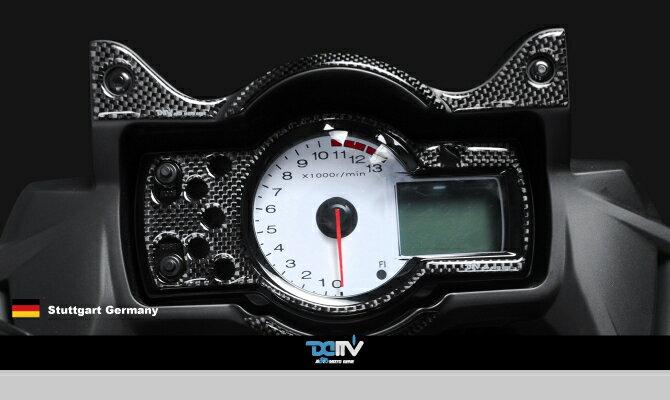 【送料無料!!】KAWASAKI VERSYS 650 10-14 メータープロテクトパッドK3 カーボン(Meter Apperance Pad)