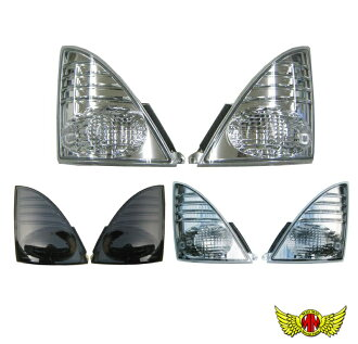 And your package! NEW profia and Ranger Pro turn signal lamps (clear light smoke smoke)