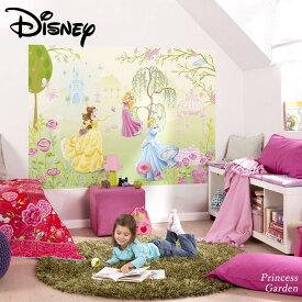 壁紙 輸入壁紙 インポート壁紙 ディズニー DISNEY disney プリンセス ベル オーロラ姫 シンデレラ 粉のり付 紙 おしゃれ クロス 店舗 内装 撮影 ドイツ製 [Princess Garden]1-417