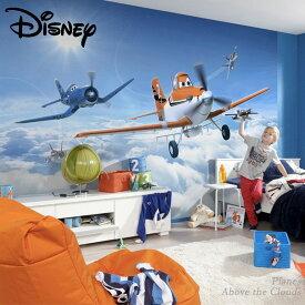壁紙 輸入壁紙 インポート壁紙 ディズニー DISNEY disney PLANES プレーンズ 粉のり付 紙 おしゃれ クロス 店舗 内装 撮影 ドイツ製 [Planes Above the Clouds]8-465