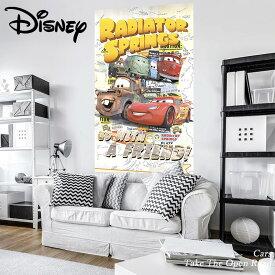 壁紙 輸入壁紙 インポート壁紙 ディズニー DISNEY disney CARS カーズ のりなし 不織布 おしゃれ 車 クロス 店舗 内装 撮影 ドイツ製 [Cars Take The Open Road]VD-041