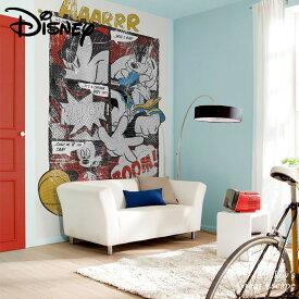 壁紙 輸入壁紙 インポート壁紙 ディズニー DISNEY disney ミッキーマウス ミッキー ドナルド 粉のり付 紙 おしゃれ クロス 店舗 内装 撮影 ドイツ製 [Mickey's Great Escape]4-421
