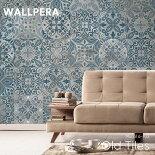 壁紙クロス輸入壁紙不織布WALLPERA[Mural6-102OldTiles]オールドタイル《即納可》