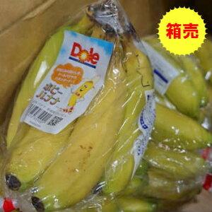 【送料無料】箱売 バナナ 1箱(18〜23袋)