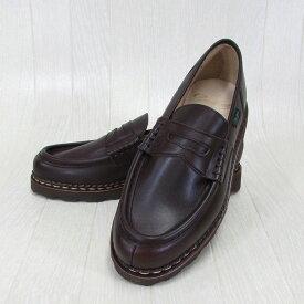 Paraboot パラブーツ メンズ ローファー ランス REIMS 099413 チロリアン シューズ フランス製 靴 /CAFE カフェ サイズ:5.5/6/6.5/7/7.5/8/8.5/9