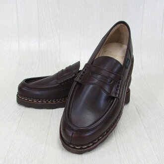 Paraboot帕拉長筒靴人低毛皮蘭斯REIMS 099413蒂羅爾的鞋法國製鞋/CAFE咖啡廳尺寸:6.5/7/7.5/8/8.5/9