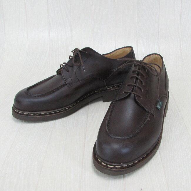 Paraboot パラブーツ CHAMBORD シャンボード 710707 メンズ Uチップ レザー シューズ 本革 靴 紳士靴 フランス製 /CAFE カフェ サイズ:6/6.5/7/7.5/8/9