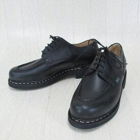 Paraboot パラブーツ CHAMBORD シャンボード 710709 メンズ Uチップ レザー シューズ 本革 靴 紳士靴 フランス製 /NOIR ノワール サイズ:5.5〜10
