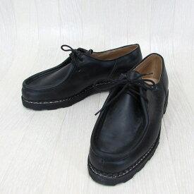 Paraboot パラブーツ MICHAEL ミカエル 715604 チロリアン シューズ メンズ 靴 レザー 本革 革靴 フランス製 /NOIR ノワール サイズ:40.5〜44