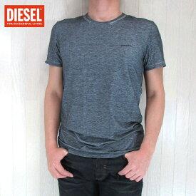 DIESEL ディーゼル メンズ トップス半袖 Tシャツ カットソー 丸首 クルーネック アンダーシャツ UMTEE RANDAL/ブラック 黒 サイズ:S/M/L/XL/XXL