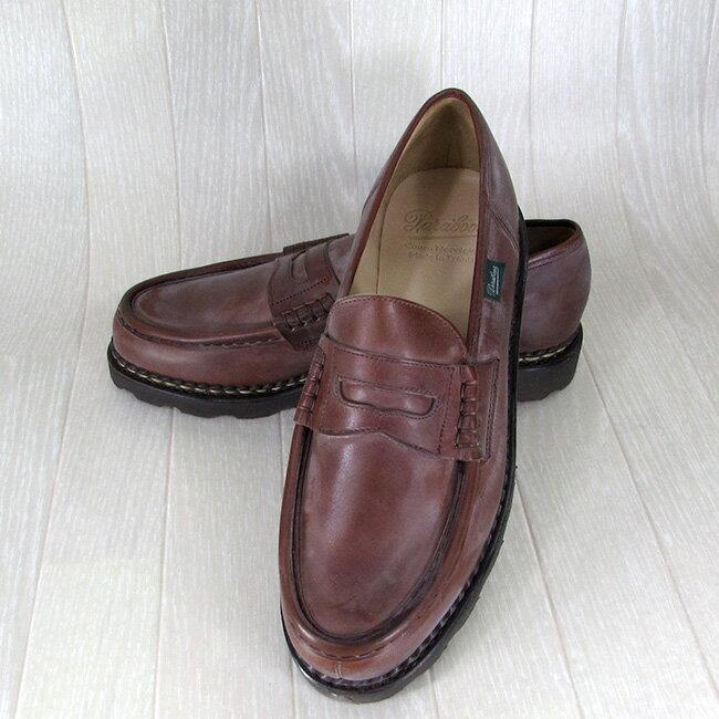 Paraboot パラブーツ メンズ ローファー ランス REIMS 099403 チロリアン シューズ フランス製 靴 /MARRON マロン サイズ:7/7.5/8/8.5/9
