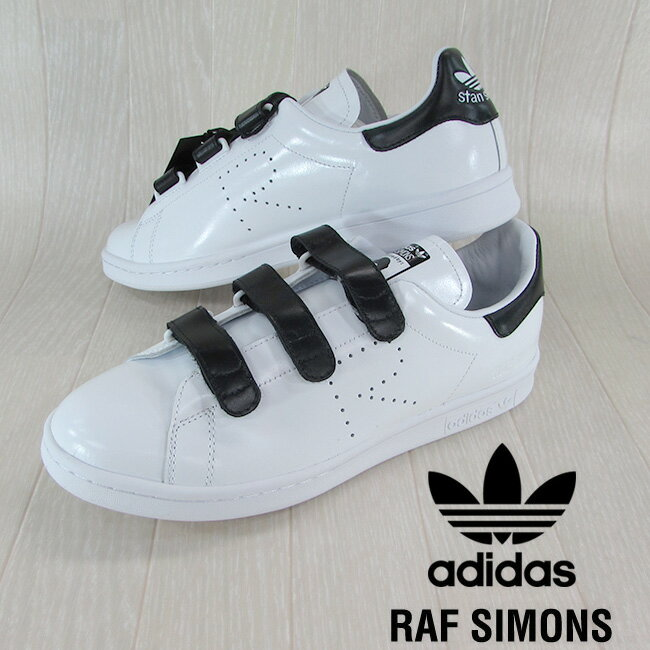 adidas by RAF SIMONS アディダス バイ ラフシモンズ メンズ スニーカー スタンスミス シューズ 靴 BB2682/ホワイト/ブラック/ホワイト サイズ:7/8/8.5/9