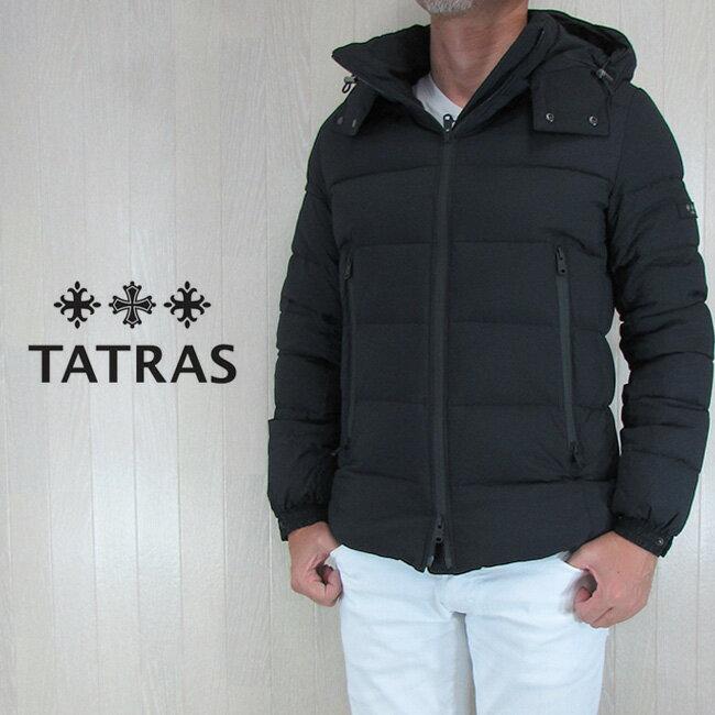 TATRAS タトラス ダウンジャケット メンズ アウター ダウン BORBORE MTA18A4369/ブラック サイズ:1/2/3/4