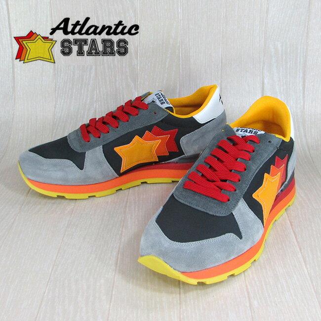 AtlanticSTARS アトランティックスターズ メンズ スニーカー イタリア シューズ 靴 SIRIUS SPG 61AE グレー サイズ:39〜45