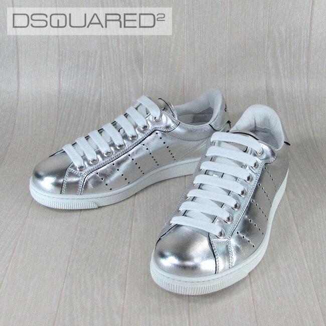 ディースクエアード DSQUARED2 メンズ スニーカー 靴 シューズ SN403347/2137/シルバー サイズ:39.5〜43