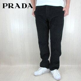 プラダ PRADA メンズ パンツ コーデュロイパンツ ボトム GEP178/ブラック サイズ:30〜33