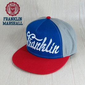 フランクリンマーシャル Franklin&Marshall メンズ キャップ 帽子 CAP アジャスター 小物 CPUA9010 W14/-/グレー サイズ:58