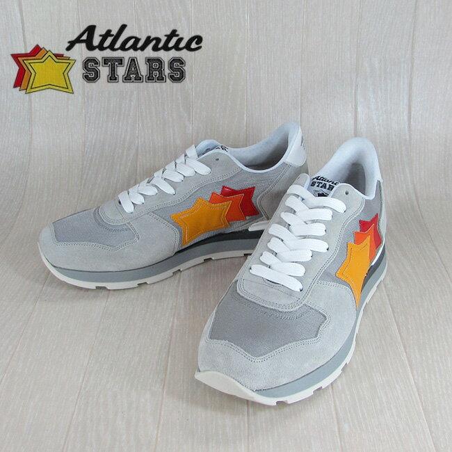 Atlantic STARS アトランティックスターズメンズ スニーカー イタリア シューズ 靴 ANTARES SBB 63B TRICO/グレー サイズ:40〜45