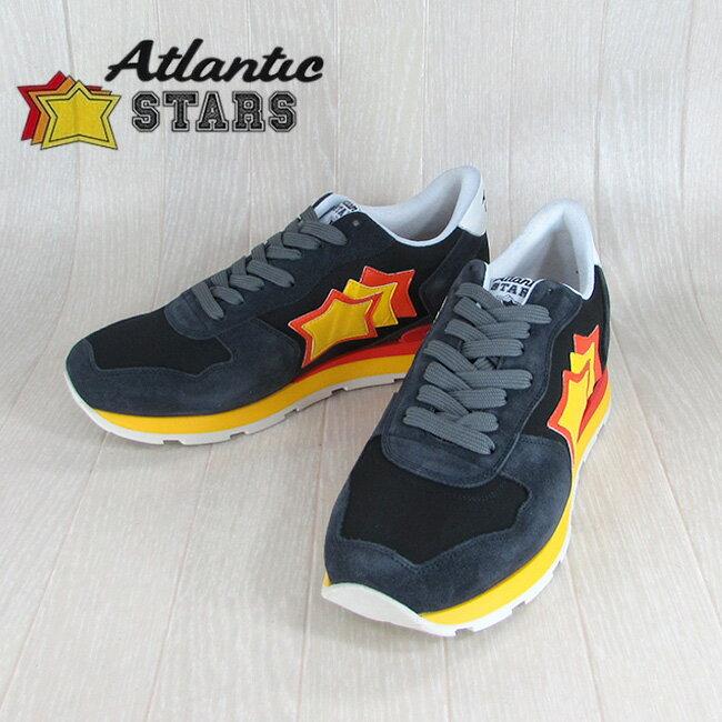 Atlantic STARS アトランティックスターズメンズ スニーカー イタリア シューズ 靴 ANTARES NAB 27R/ダークネイビー サイズ:40〜45