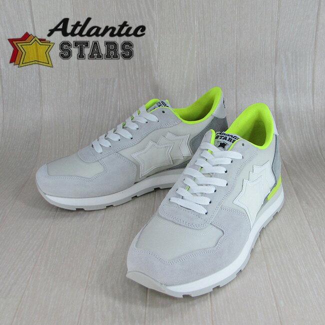 AtlanticSTARS アトランティックスターズ メンズ スニーカー イタリア シューズ 靴 ANTARES CBG 86GF /ー/ホワイト サイズ:40〜45