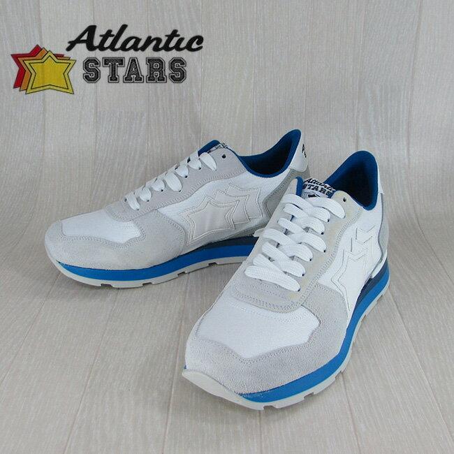 Atlantic STARS アトランティックスターズメンズ スニーカー シューズ 靴 ANTARES BCA 83B/ホワイト サイズ:40〜45