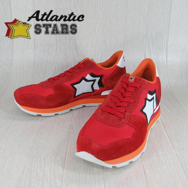 Atlantic STARS アトランティックスターズメンズ スニーカー イタリア シューズ 靴 ANTARES FR 85B/レッド サイズ:40〜45