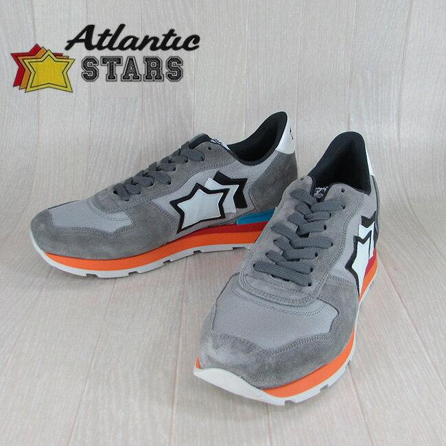 Atlantic STARS アトランティックスターズメンズ スニーカー イタリア シューズ 靴 ANTARES FR 85B/グレー サイズ:40〜45