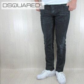 ディースクエアード DSQUARED2 デニム ジーンズ メンズ デニムパンツ S71LB0391/900/ブラック サイズ:44〜52