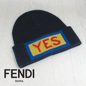 フェンディ FENDI 帽子 ニット帽 ニットキャップ メンズ レディース ユニセックス FXQ053 A0A8 F0QA2/ネイビー 紺