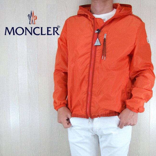 モンクレール MONCLER メンズ ブルゾン ジャケット アウター 4162305 54155 / 328 / オレンジ サイズ:1〜4