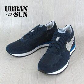 アーバンサン URBANSUN メンズ ローカット スニーカー 靴 シューズ アレイン ALAIN 104 / ネイビー 紺 サイズ:40〜43