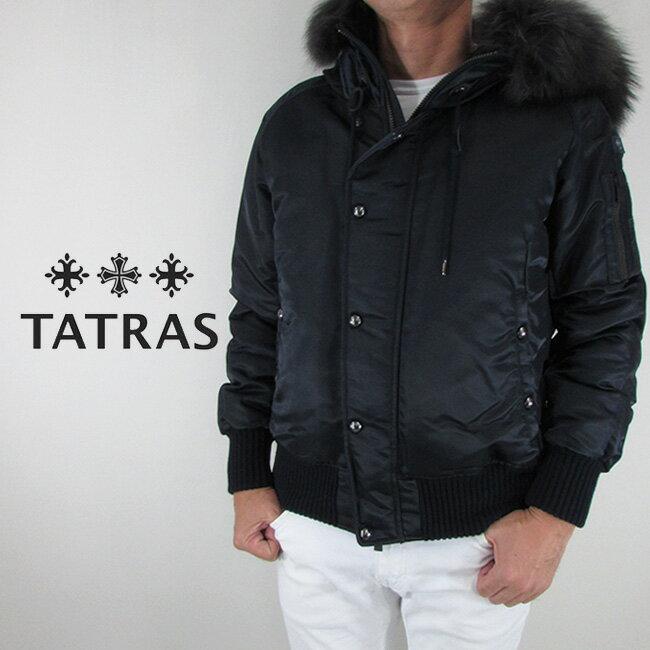 タトラス TATRAS メンズ ダウンジャケット ダウン アウター ボンバージャケット MTA19A4572 / NAVY / ネイビー サイズ:1〜4