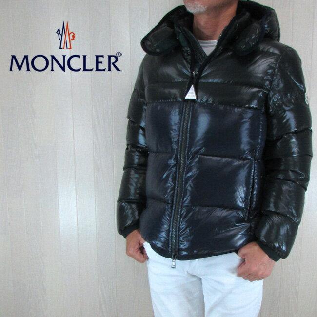 モンクレール MONCLER メンズ ダウンジャケット ダウン アウター HARRY / 4137785 68950 / 868 / ネイビー/ダークグリーン サイズ:3