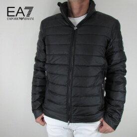 エンポリオアルマーニ EA7 EMPORIO ARMANI メンズ ダウンジャケット ライトダウン アウター 6ZPB14 PN22Z / 1200 / ブラック サイズ:S〜3XL