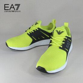 エンポリオアルマーニ EA7 EMPORIO ARMANI メンズ ローカット スニーカー シューズ 靴 X8X024 XCC06 / 00586 / イエロー サイズ:7〜9
