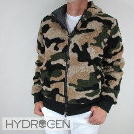 ハイドロゲン HYDROGEN メンズ ブルゾン フリース ジャケット アウター 230700 / B98 / カーキカモ サイズ:S〜XL