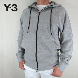 Y-3 ワイスリー YOHJI YAMAMOTO メンズ パーカー ジップパーカー スウェット ストリート DP0573 / MGREYH / グレー サイズ:S〜XL
