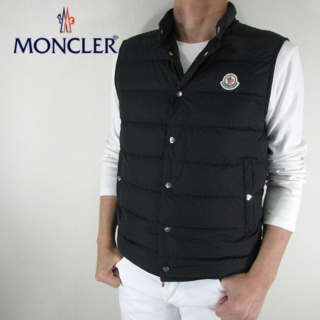モンクレール MONCLER メンズ ダウンベスト ダウン ベスト ライトダウン 4393305 5396F / 999 / ブラック サイズ:1〜5