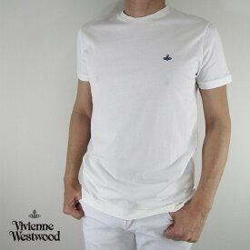 ヴィヴィアンウエストウッド vivienne westwood メンズ Tシャツ 半袖 S25GC0377 / 101 / オフホワイト サイズ:XS〜L