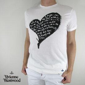 ヴィヴィアンウエストウッド vivienne westwood メンズ Tシャツ 半袖 S25GC0384 / 101 / ホワイト サイズ:XS〜XXL