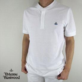 ヴィヴィアンウエストウッド vivienne westwood メンズ Tシャツ 半袖 S25GL0017 / 100 / ホワイト サイズ:S/M/L