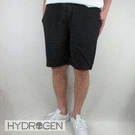 ハイドロゲン HYDROGEN メンズ ハーフパンツ ジャージ 240518 / 007 / ブラック 黒 サイズ:S〜2XL