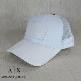 アルマーニ エクスチェンジ ARMANI EXCHANGE メンズ キャップ スポーツキャップ ベースボールキャップ 954040 CC502 / 00010 / ホワイト 白