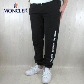 モンクレール MONCLER スウェット パンツ ロゴ スエット ブランド メンズ 8707650 V8048 / 999 / ブラック サイズ:S/M/L/XL